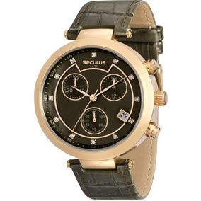 Relógio Seculus Feminino Original Garantia Nota 20450lpsvdr2