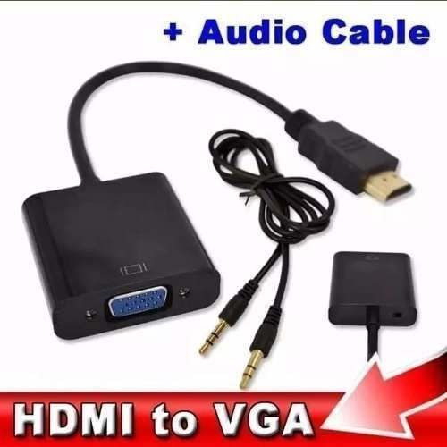 Hdmi Male To Vga Female Adapter Cable For Pc Hdtv 128004