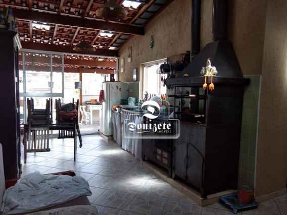 Cobertura Com 3 Dormitórios À Venda, 180 M² Por R$ 550.000 - Santa Maria - Santo André/sp - Co0413