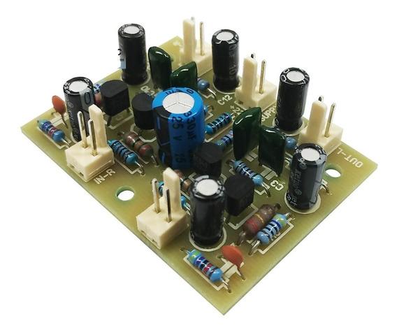 Kit Pré Amplificador Phono Toca Discos Riaa Magnético