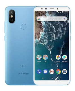 Celular Xiaomi Mi A2 Dual Sim 64 Gb Azul 4 Gb Ram
