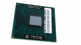Processador Notebook T400 Lenovo Core² Duo P8600 3m 2.4ghz