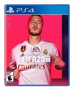 Fifa 20 Juego Físico Play 4 Fifa 2020 Ps4 Original Nuevo