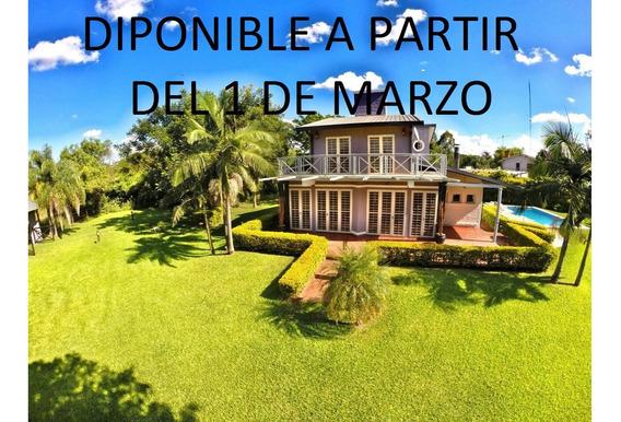 Casa Con Piscina En Alquiler En Paso De La Patria Corrientes