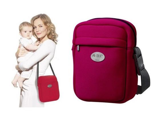 Bolsa Termica Porta Mamadeira Bolsa Maternidade Avent