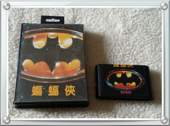Jogo Batman Paralelo Mega Drive