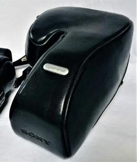 Sony - Funda De Piel Genuina Para Cyber-shot F828. Nueva