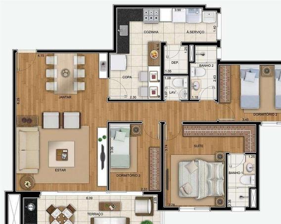 Apartamento Residencial À Venda, Horto Florestal, São Paulo. - Ap0804