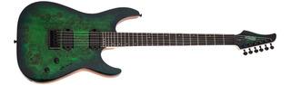 Guitarra Electrica Aqua Burst 6 Cuerdas Schecter C-6 Pro