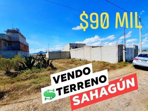 Terreno En Venta En Sahagún Hidalgo, 90 Mil Pesos