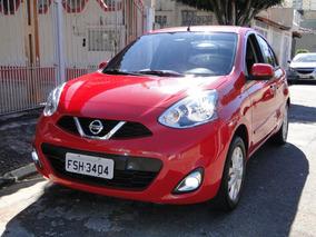 Nissan March 1.6 Sv Único Dono, Completo, Sem Detalhes