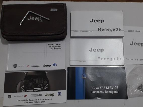 Manual Do Jeep Renegade 2017 Em Diante Em Branco #1851