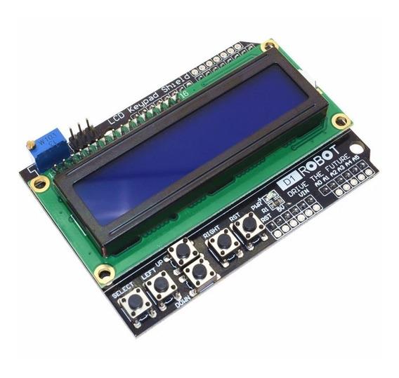 Display Lcd Com Botões ( Arduino, Pic, Arm)