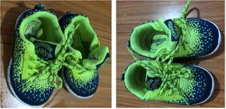 S/ 100 Zapatillas Oshkosh Niños12-24 Meses Talla 5