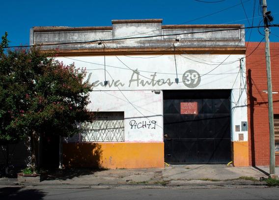 Galpón Con 10 Cocheras, Local Y Baño
