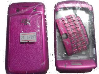 Carcaça Reposição Celular Blackberry 9700 Bold Rosa