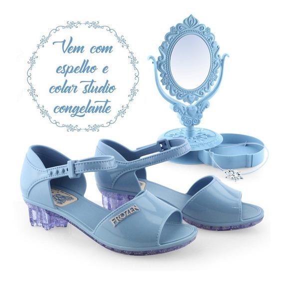 Sandália Da Frozen Studio De Beleza 21630 - Cirandinha