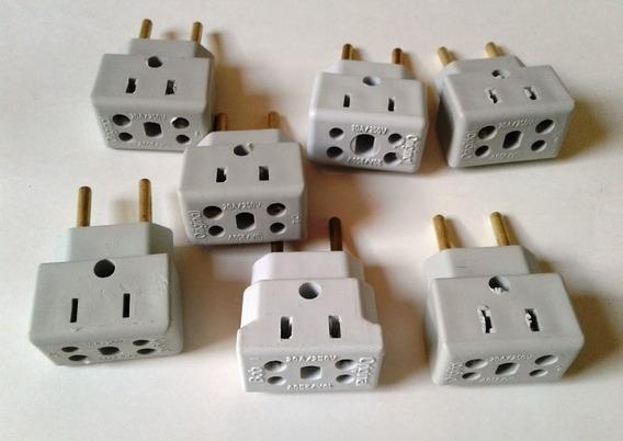 3 Adaptador 20 Amperes Fonte, Notebook, Netbook, Secador !