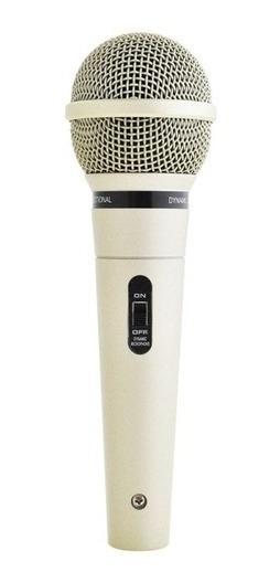 Microfone Mud-515 Metal Dinâmico Cabo 5 Metros By Carol