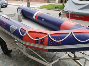 Semirrigido Baab 420 Con Trailer Accesorios Nautica Milione