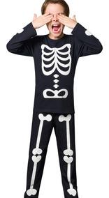 Pijama Esqueleto Teen - Veggioficial