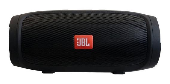 Caixa Som Portátil Jbl Charge Mini 3 Bluetooth Preto Fm Usb