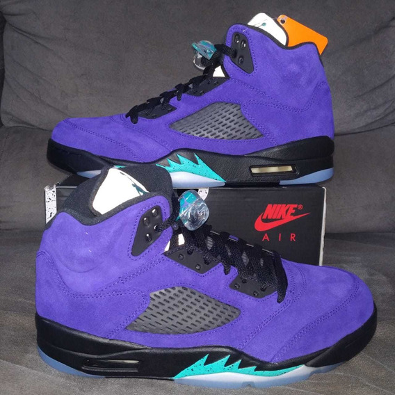 Air Jordan 5 Purple Grape