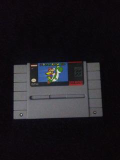 Super Mario World - Videojuego Supernintendo Snes