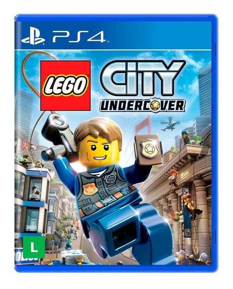 Lego City Undercover Ps4 Mídia Física Novo Lacrado