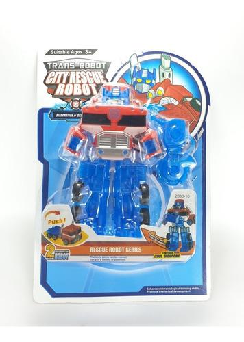 Trasformers Rescue Bots Jueguete Didactico Juego Robot Carro