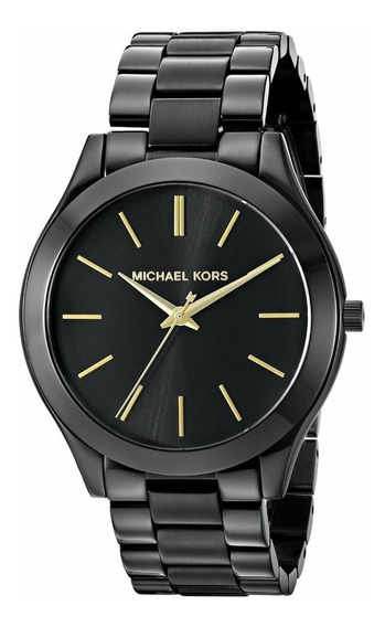 Relógio Michael Kors Original Mk3221 Slim Feminino Preto