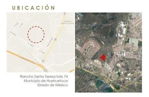 Terreno Para 718 Viviendas En Huehuetoca Estado De México