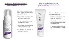 Kit Aclarador Seytu Espuma Limpiadora + Crema Aclaradora