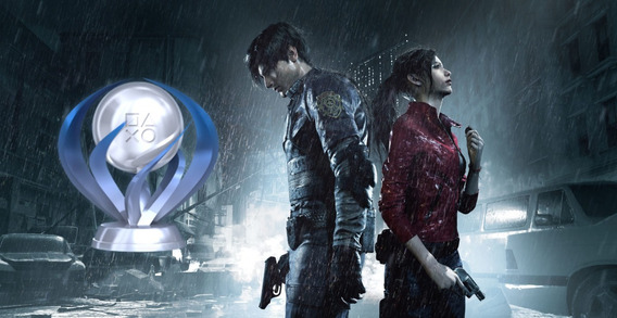 Resident Evil 2 Remake Platina Ps4