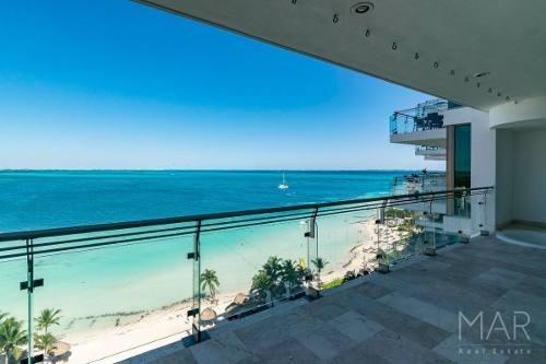 Departamento En Venta En Cancun Las Olas Frente Al Mar