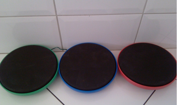 Drums Pads Drum P/ Bateria Guitar Hero Warrios Of Rock