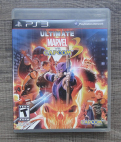 Ultimate Marvel Vs Capcom 3 Ps3 - Mídia Física Lkn
