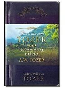Livro Dia A Dia Com Tozer Devocional Diário Couro