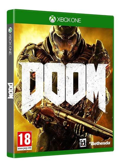 Doom - Midia Fisica Original E Lacrado - Xbox One
