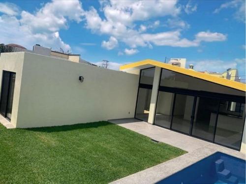 Casa En Venta Nueva En Un Solo Nivel En Lomas Tetela