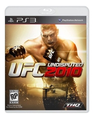 Jogo Ufc Undisputed 2010 - Playstation 3 Midia Fisica Ps3