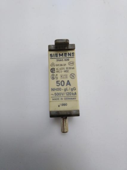 Fusível Nh Siemens 3na5 820 50 Amperes