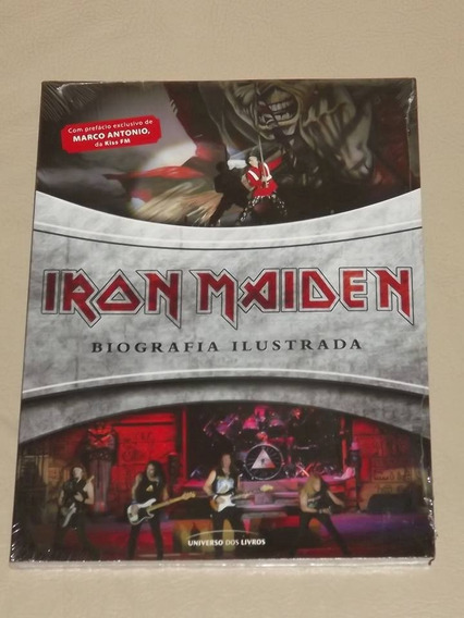 Livro Iron Maiden Biografia Ilustrada