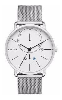 Reloj Skagen Con Microesfera Minimalista En Superior