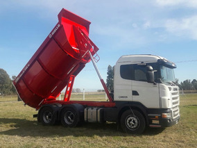 Scania G 380 2009 6x4 Tatu Volcadora Okm 17m3 Zaccocamiones