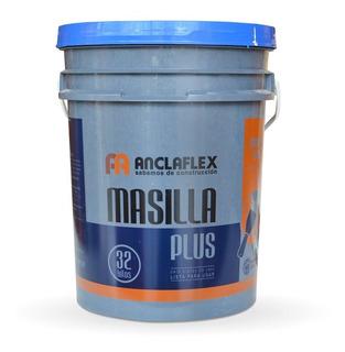 Masilla Placas De Yeso Durlock Anclaflex X 32kg Lista Para Usar - Prestigio