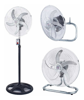 Ventilador Suzika 18 De Pie Turbo Y Pared 5 Paletas 105w!!