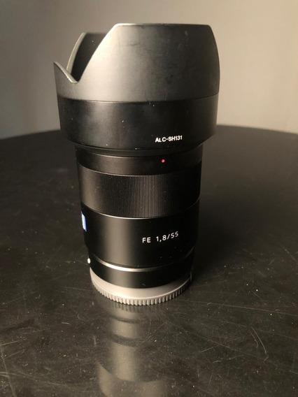 Sony Sonnar T* Fe 55mm 1.8 Za Lens