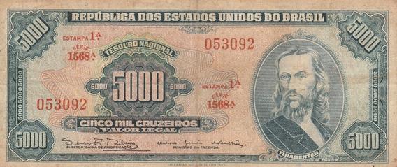 C 059, 5000 Cruzeiros Serie 1568