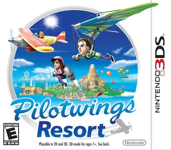 Jogo Pilotwings Resort Nintendo 3ds Original Mídia Física